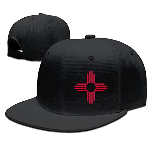 Zia Sun Zia Pueblo New Mexico Sun Symbol Sports Flat Caps Black At