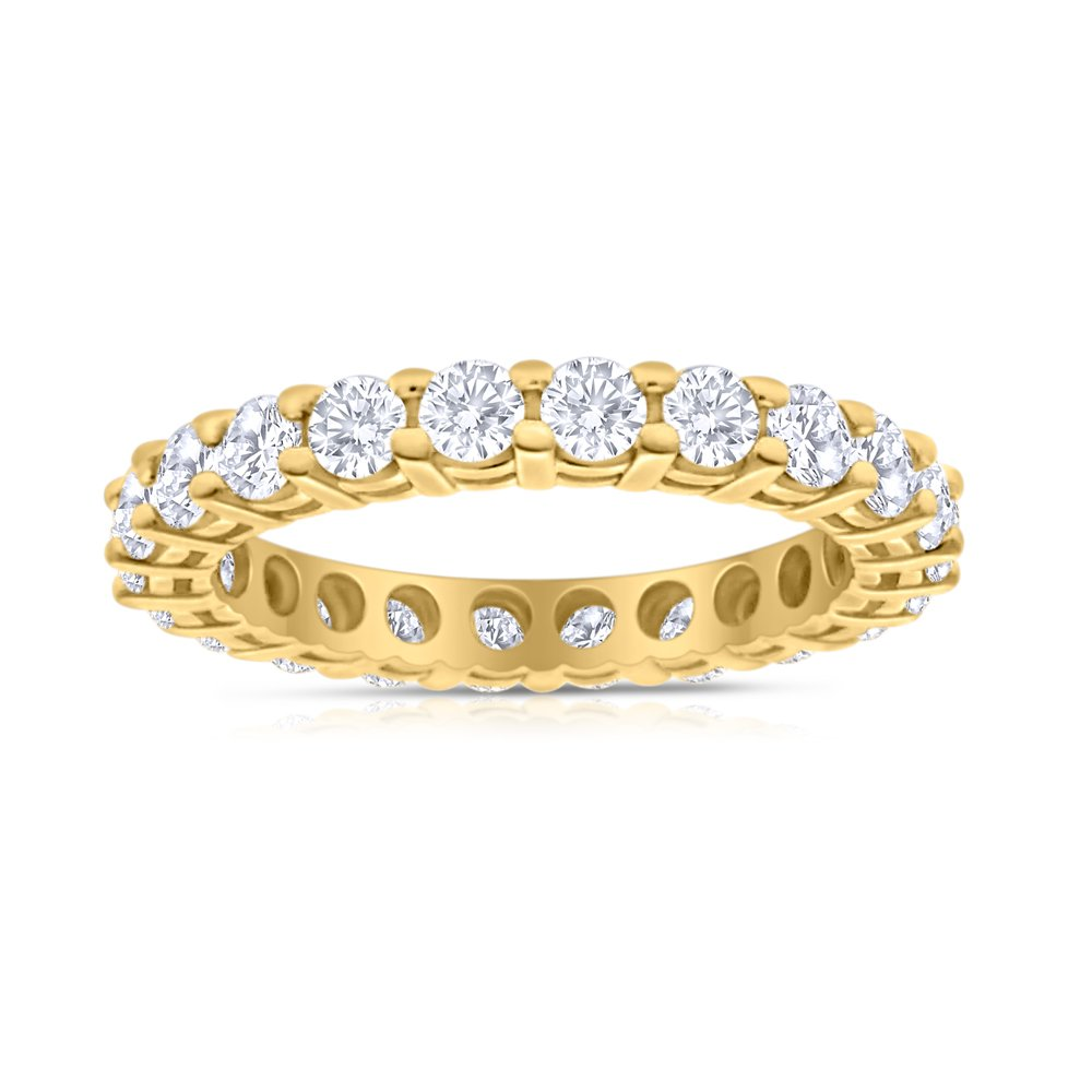 2.00ctw Diamond Eternity Band Band in 14k Yellow Gold