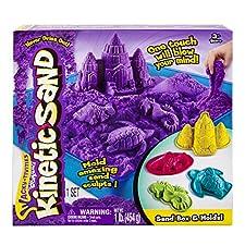 Kinetic Sand Sandbox & Molds