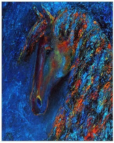 Abstract Animals Custom Oil Painting