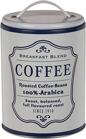 Caja de metal Vintage Café, Té o azúcar a elegir Modell:coffee: Amazon.es: Hogar