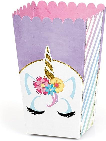 Amazon.com: Rainbow Unicorn – Juego de 12 cajas de regalo ...