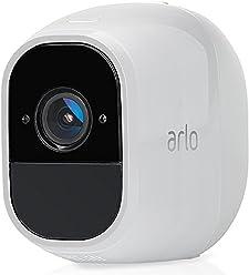 Arlo  VMC4030P-100EUS Pro 2 - Cámara adicional de seguridad y vídeo vigilancia sin cables 1080p HD (recargable, interior/exterior, visión nocturna, audio bidireccional, visión 130º)