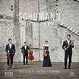 Mozart/Ives/Verdi: Streichquartette