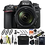 Nikon D7500 DSLR Camera With 18-140mm ED VR Lens - Includes Manufacturer Supplied Accessories (18-140mm Lens, Basic Bundle)