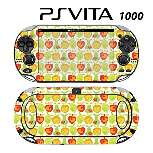 Skin Decal Cover Sticker for Sony PlayStation PS Vita (PCH-1000) - Fruit Pattern -  Decals Plus