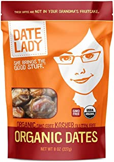 product image for Date Lady Organic Barhi Dates | Vegan, Paleo, Gluten-free & Kosher (1 Bag)