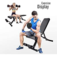ELECWISH Adjustable Weight Exercise Bench Deals