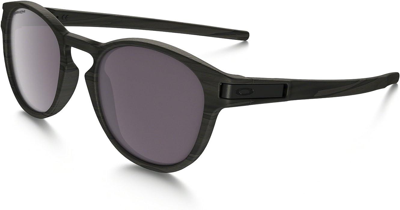 1382724a379df Amazon.com  Oakley Latch Sunglasses Woodgrain Prizm Daily Polarized    Cleaning Kit Bundle  Clothing