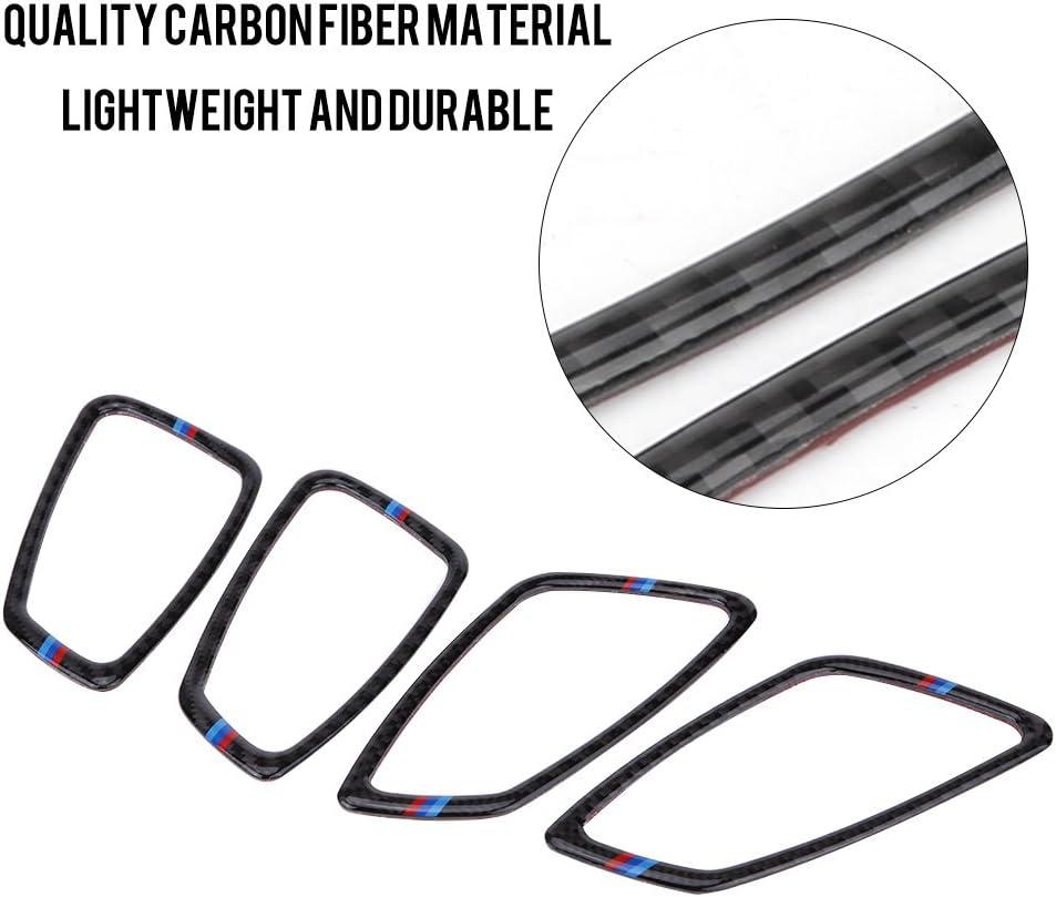 2 Maniglia Decorativa Copertura Interna per Telaio Interno in Fibra di Carbonio per E90 E92 E93