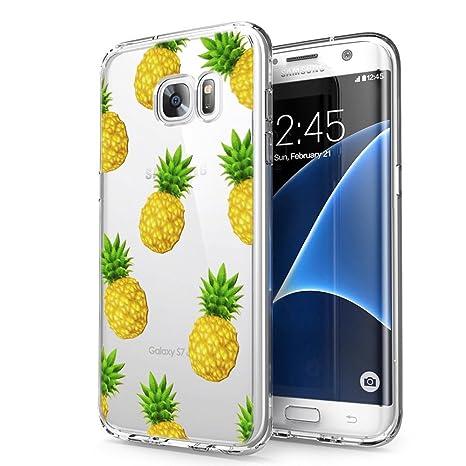 Eouine Coque Samsung Galaxy S7, Etui en Silicone 3D Transparente avec Motif  Fantaisie Peinture Design c7403f01e50a