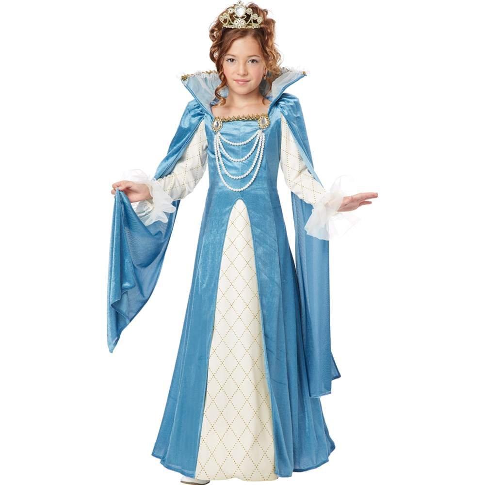 Amazon.com: California Costumes Renaissance Queen Child Costume ...