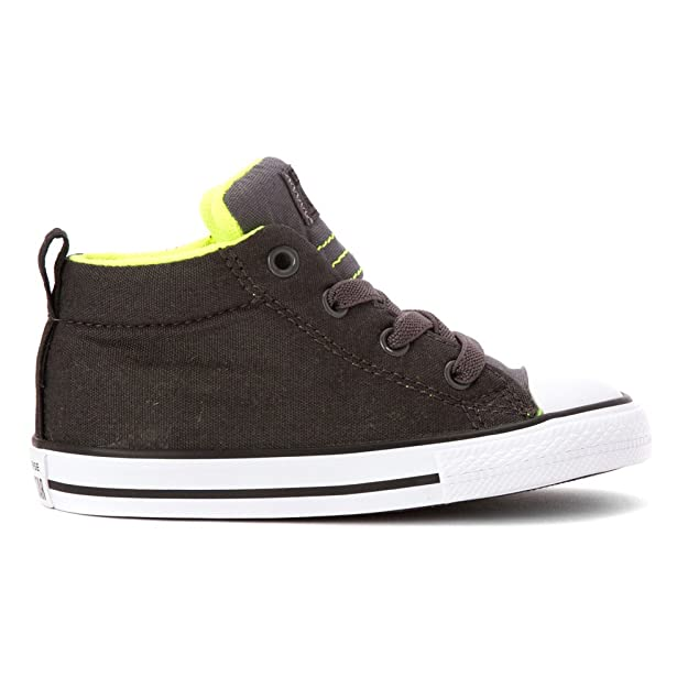 145f3c7abfe7 Amazon.com  Converse Kids  Chuck Taylor All Star Street Mid (Infant Toddler)   Converse  Shoes
