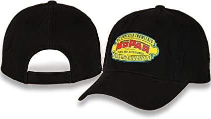 H3 Headwear Mopar Speed /& Power Equipment Gray /& Black Adjustable Ball Cap