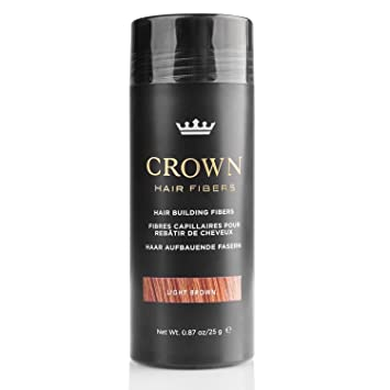 Amazon.com: Crown fibra capilar, corrector para cabello ...