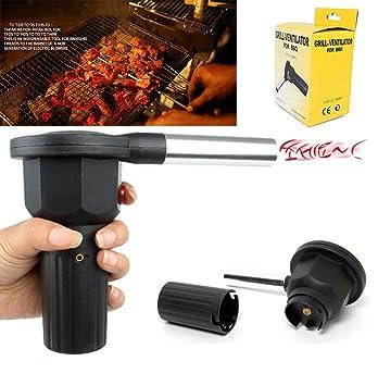 Amazon.com: Ventilador eléctrico para barbacoa, mini ...