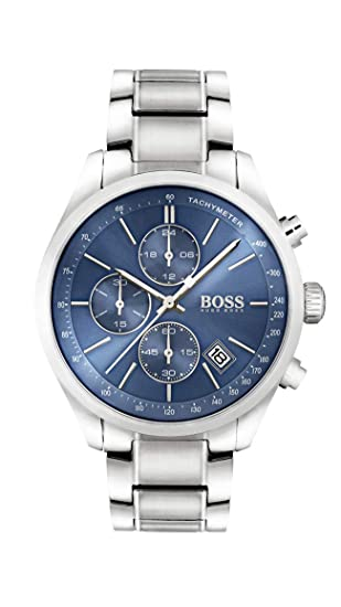 another chance wholesale price new styles Boss Herren-Uhren Analog Quarz Edelstahl 32002665
