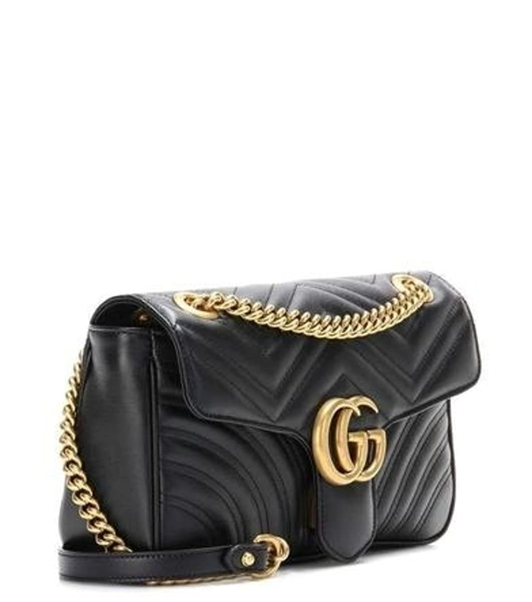 379c94bf5c2 Gucci GG Marmont Medium Matelassé Leather Shoulder Bag  Amazon.co.uk  Shoes    Bags