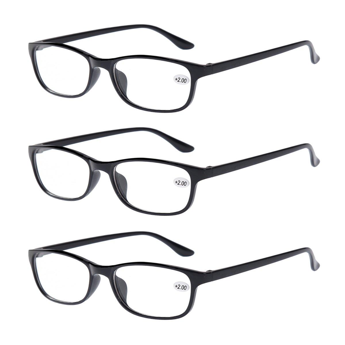 Amazon.com: 3 PRS of Southern Seas +2.50 Bifocals Reading