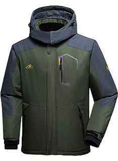 XinYangNi Mens Mountain Waterproof Ski Jacket Windproof Rain Jacket