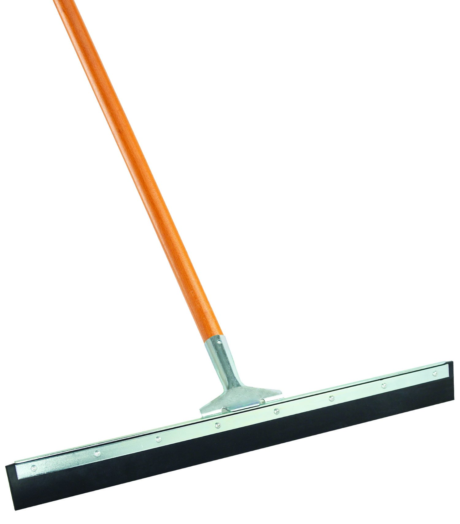 Libman Commercial 1038 Straight Floor Squeegee with Handle, 24'' (Pack of 6)