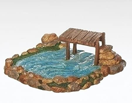 Fontanini Roman 7 Fishing Pond for the 5 Scale 55588