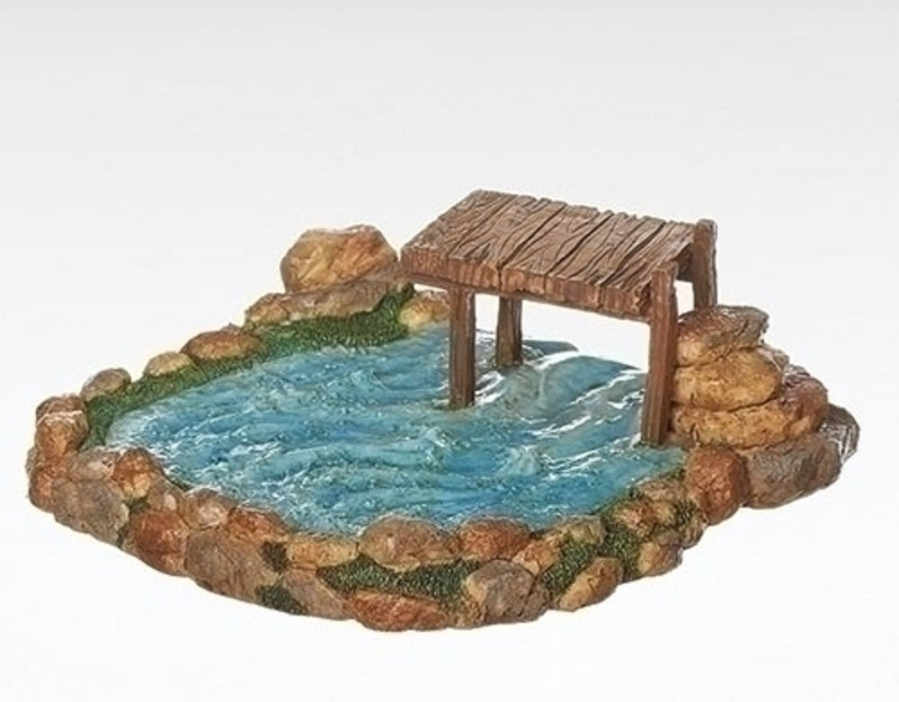 Fontanini Roman 7'' Fishing Pond for the 5'' Scale (55588)