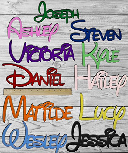 personalized wall letters - 1
