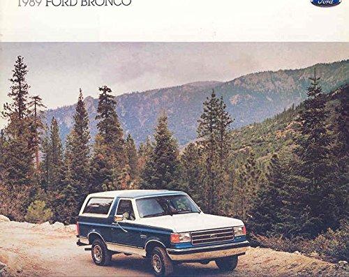 Ford Brochure - 1989 Ford Bronco Truck Brochure