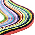 Hosaire Paper Quilling Strips Set (1040 Strips) 26 Colors (3/5/7/10mmx39cm,Pack of 4 Sets) for Arts and Crafts Projects