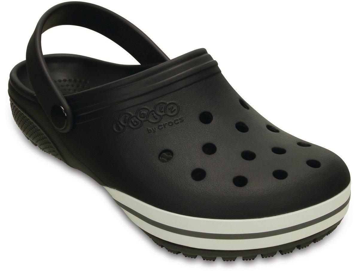 Crocs Jibbitz kilby Clog Black Relaxed Fit Unisex Mens 8/Womens 10