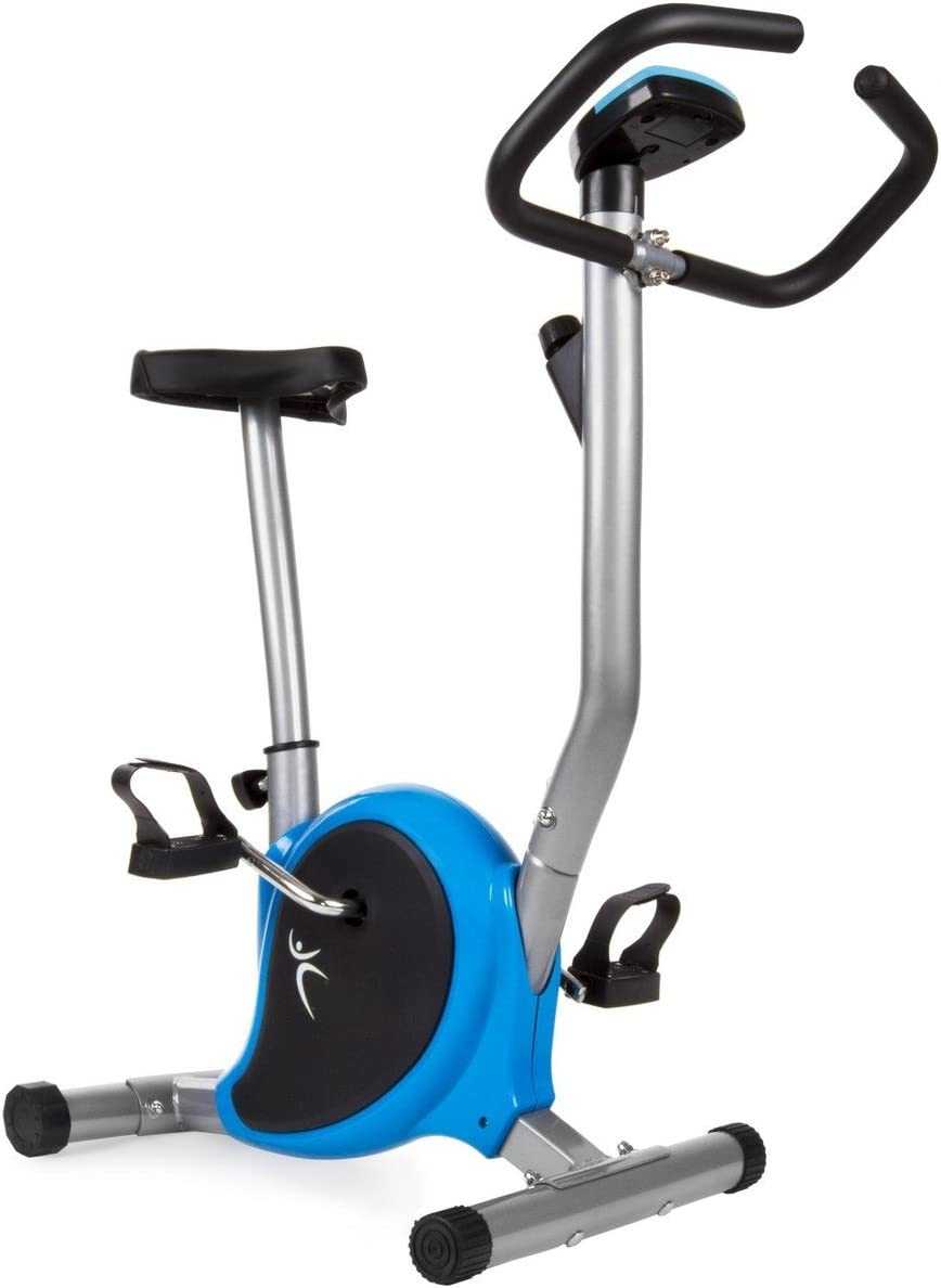 Bicicleta estatica regulable con pantalla LCD: Amazon.es: Deportes ...