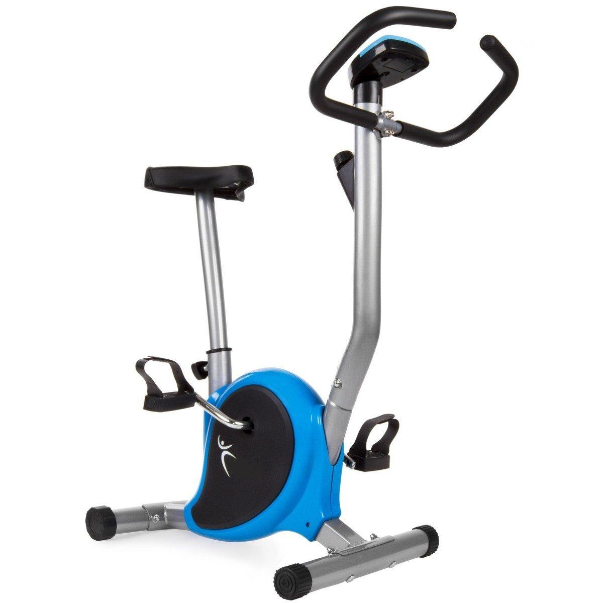 Bicicleta estatica regulable con pantalla LCD: Amazon.es: Deportes ...
