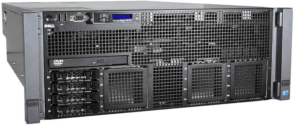 Dell PowerEdge R910 Rack Server - 2 x E7540 - 128GB RAM - 2 x 146GB 10K