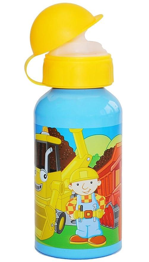 Unbekannt Disney Mickey oder Minnie Maus Aluminium Trinkflasche mit Farbauswahl Gelb-Minnie