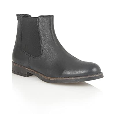 LOTUS Leather FALCON Black Ankle Boots, Chelsea Boots, Casual 9
