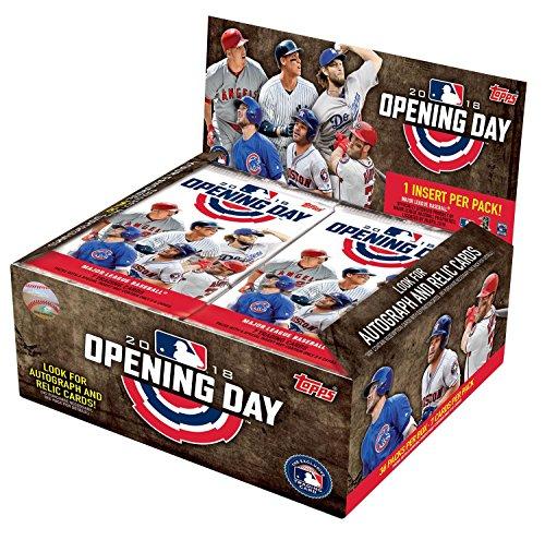 2018 Topps Opening Day Baseball Hobby Box (36 Packs/7 Cards) ()