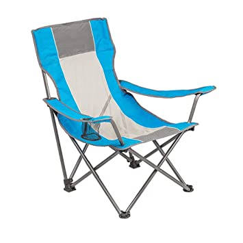 CGF-Mecedora Silla de Camping Plegable Plegable Silla de Camping Zero Gravity portavasos portátil Que acampa Pesca Jardín Picnic, Azul + Malla, Teniendo 150 ...