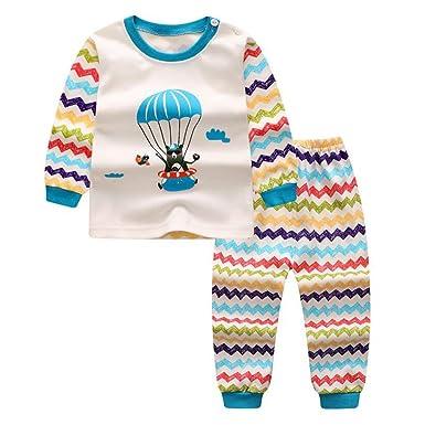c6c1aa1cbf86c Meedot Ensemble de Pyjamas bébé Nouveau-né Filles garçons