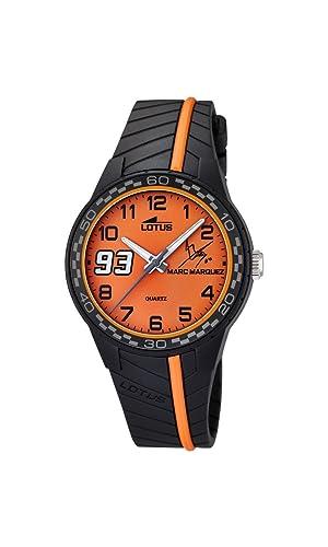 Lotus Marc Marquez, Junior, de niño, Color Naranja, Reloj de Hombre de
