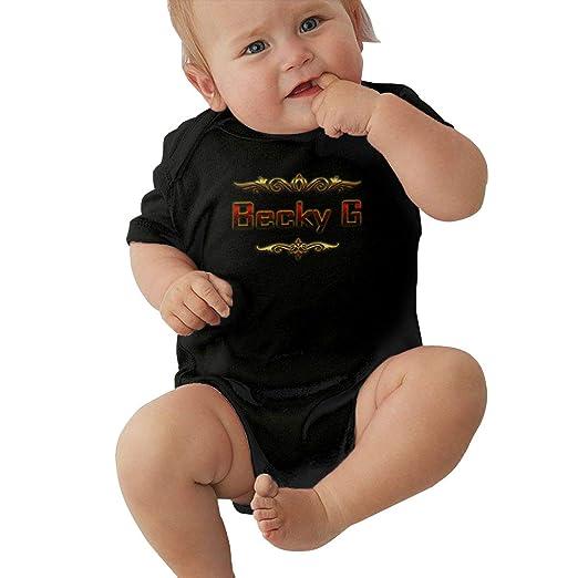 ACFUNEJRQ Palm Rainbow Pure Color 6-24 Months Boy Short-Sleeved T-Shirt