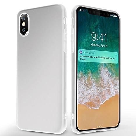 custodia iphone x ultra slim silicone