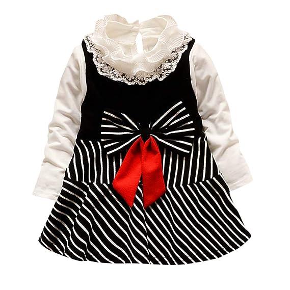 QinMM Tutu Principessa Vestito Compleanno Principessa Abito Le Bambine a  Strisce per Bambini Sono vestite da Ragazza (6mesi-3anni)  Amazon.it   Abbigliamento 8bbac08dfd9
