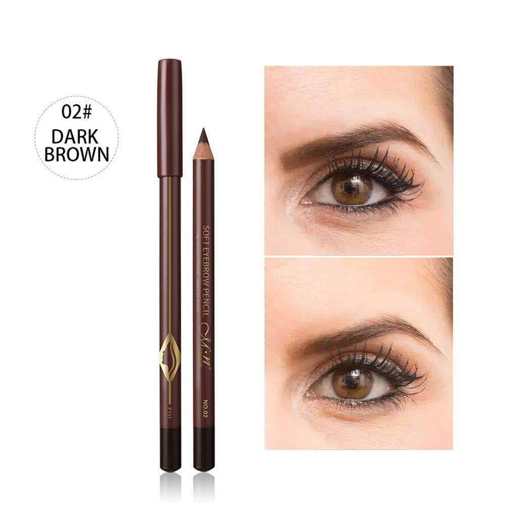 S.H.EEE Waterproof Eye Brow Eyeliner Eyebrow Pen Pencil With Brush Makeup Tool (B) by S.H.EEE (Image #2)