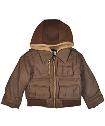 9b4cb763d Amazon.com  London Fog Baby-Boys Bomber Jacket  Infant And Toddler ...