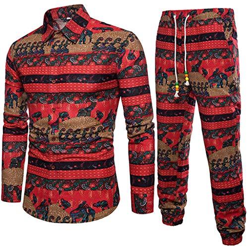 VEZAD Athletic Full Zip Fleece Tracksuit Jogging Sweatsuit Activewear