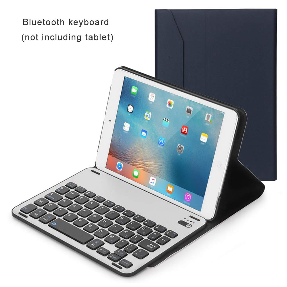 CAPTIANKN Wireless Bluetooth Keyboard, Detachable Metal Keyboard Case for ipad Mini123,RoyalBlue by CAPTIANKN