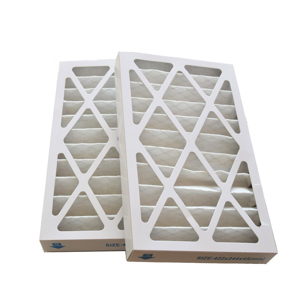 EJWOX 5-Micron Outer Air Filters for Air Filtration System, 2-Pack