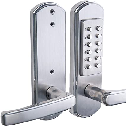 Bravex Keyless Keypad Entry Door Lock 4 8 Combination Code Front