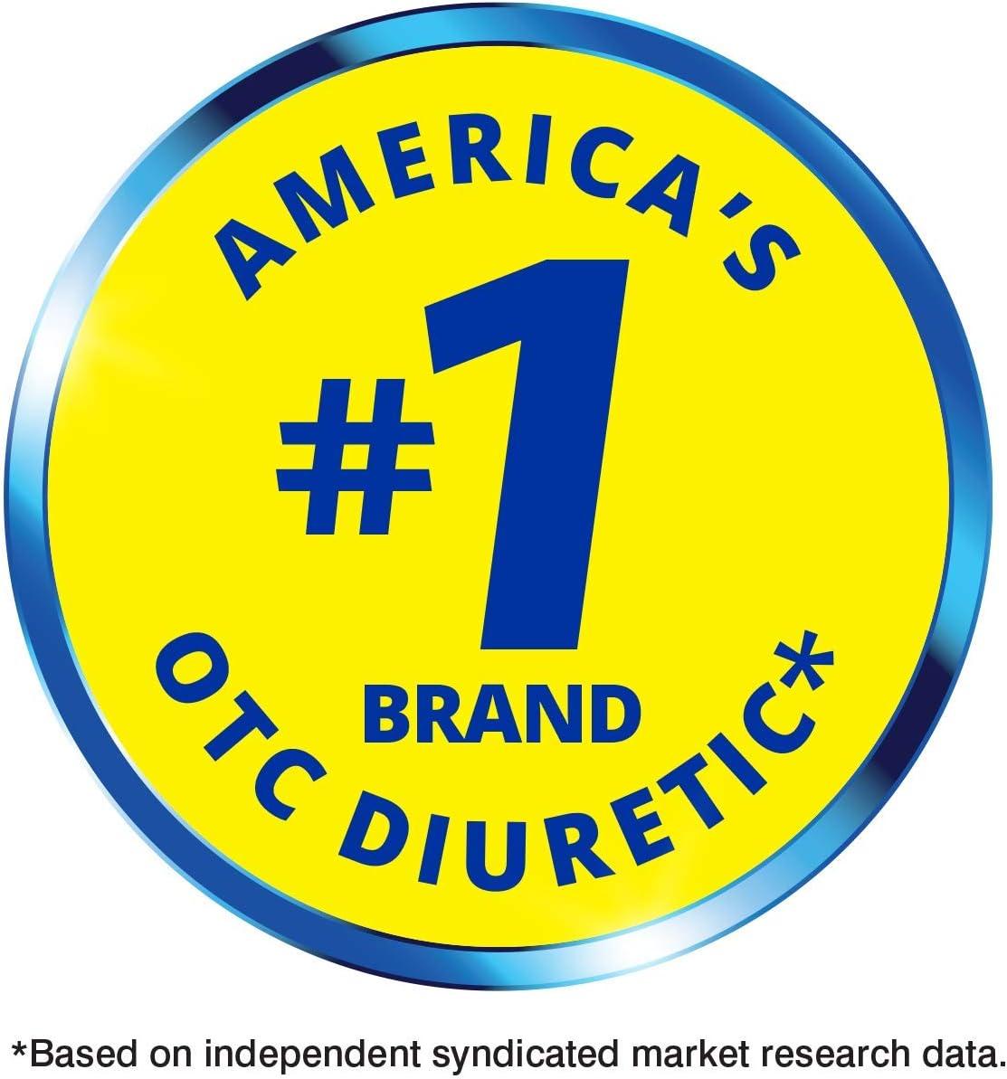 Diurex Max Water Pills - Maximum Strength Caffeine Free Diuretic - Relieve Water Bloat - 48 Count: Health & Personal Care